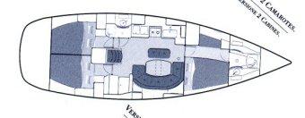 Beneteau Oceanis 411 14