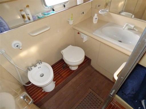 bagno cabina di poppa