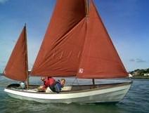 Drascombe Longboat Wood Cruiser Driver